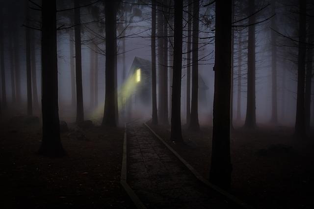 děsivý les